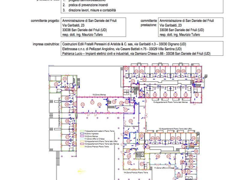 Residenza per Anziani Compartimentazione antincendio – 0005DSL1